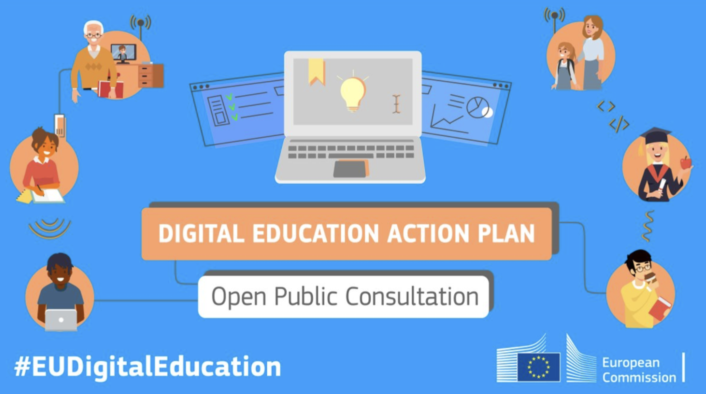 EC launches a public consultation on a new Digital Education Action Plan!